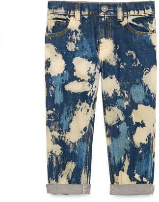 Children's bleached denim pant $385 thestylecure.com