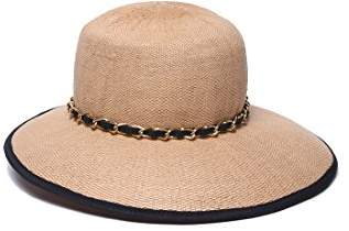 Physician Endorsed Women's Sands Asymmetrical Brim Hat with Rated UPF 50+