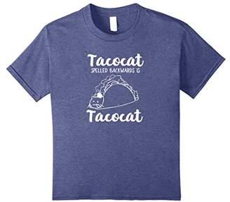 TacoCat Spelled Backwards Funny Cat Shirt