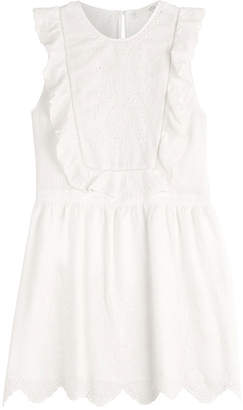 Vanessa Bruno Cotton Dress with Embroidery
