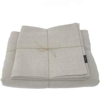 True Linen Natural Linen Bedding Set