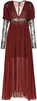 Philosophy di Lorenzo Serafini floral print maxi dress