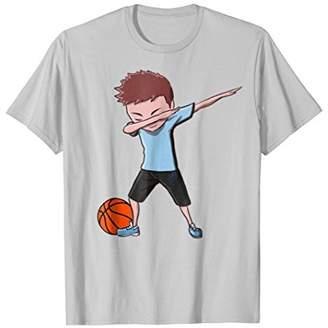 Basketball Dabbing Boy Funny Dab Dance T-shirt for Boys