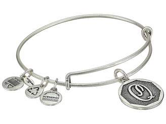 Alex and Ani Initial Q Charm Bangle Bracelet