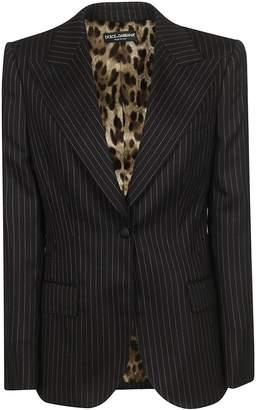 Dolce & Gabbana Single Breasted Blazer