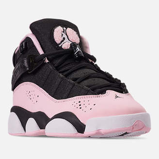 Nike Girls' Big Kids' Jordan 6 Rings (3.5y-9.5y) Basketball Shoes