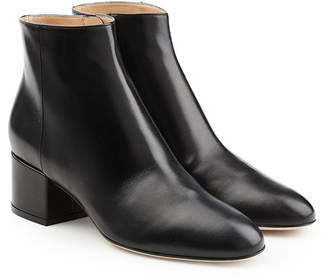 Sergio Rossi Virginia Leather Ankle Boots