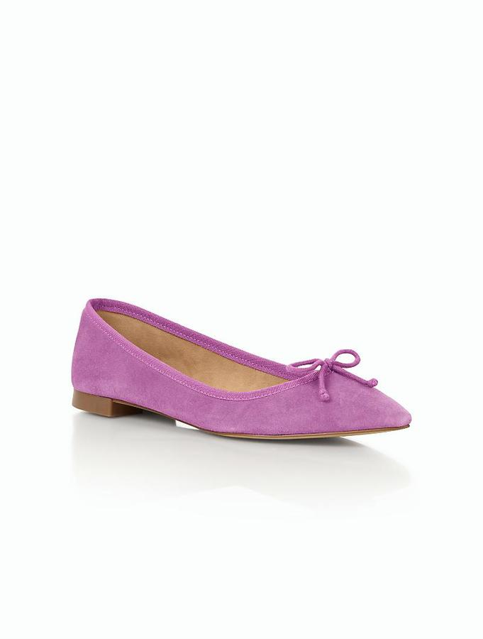 Mira Ballet Flat - Suede