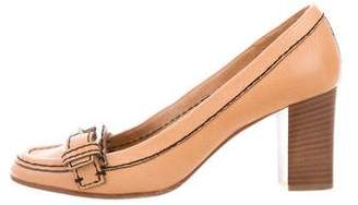 Chloé Round-Toe Loafer Pumps