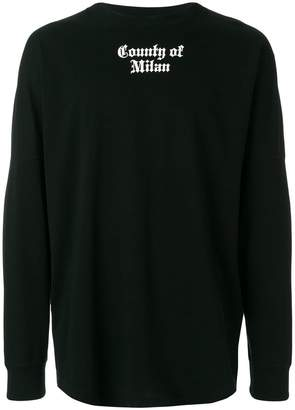 Marcelo Burlon County of Milan Flags sweatshirt