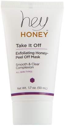 Hey Honey Take It Off Exfoliating Honey Peel Off Mask, 1.7 oz