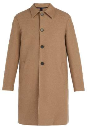 Harris Wharf London - Boiled Wool Overcoat - Mens - Camel