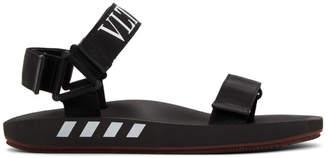 Valentino Black Garavani VLTN Sandals