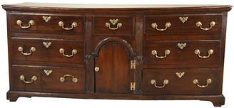 One Kings Lane Vintage 17th-C. English Oak Dresser Base - Black Sheep Antiques