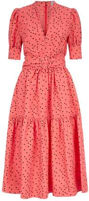 Rebecca Vallance Polka Dot Holliday Dress
