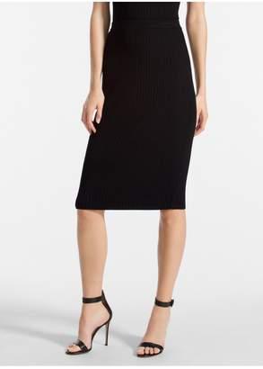 St. John Flat Rib Knit Skirt