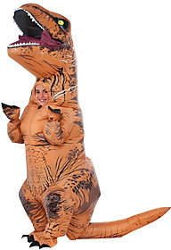Rubie's Costume Co Costumes Inflatable Full-Body Child T-RexCostume