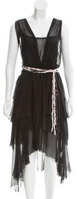 Band Of Outsiders Layered Silk Dress w/ Tags