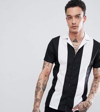 Heart & Dagger cut and sew revere collar shirt