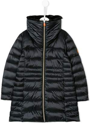 Save The Duck Kids long length padded coat