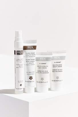Ren Skincare Flash Defense Anti-Pollution Kit