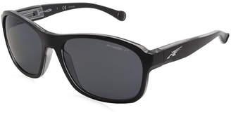 Asstd National Brand Arnette Sunglasses Uncorked / Frame: Black Lens: Polarized Gray