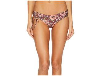 O'Neill Viera Lace-Up Hipster Bikini Bottom Women's Swimwear