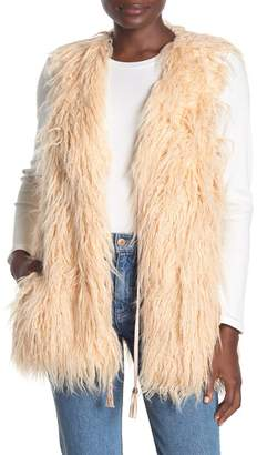 Show Me Your Mumu Luis Shaggy Faux Fur Vest