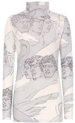 Loewe Printed turtleneck top