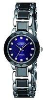 Aureole [オレオール セラミック レディース腕時計 文字盤カラー:ネイビー SW-578L-4