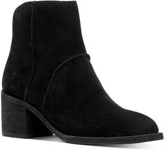 Frye Women's Monroe Seamed Suede Booties