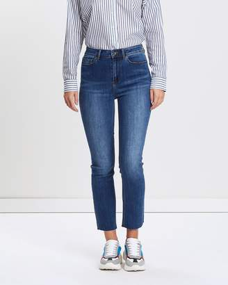 Jag Bianca High-Rise Slim Straight Jeans
