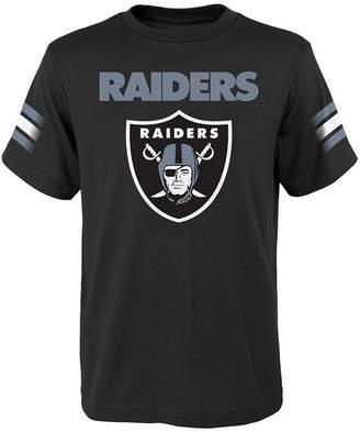 Outerstuff Oakland Raiders Goal Line T-Shirt, Big Boys (8-20)