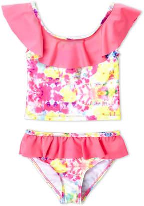 Betsey Johnson Toddler Girls) Two-Piece Tie-Dye Tankini Set