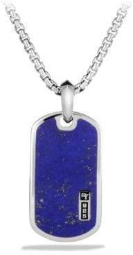 David Yurman Davidyurman Exotic Stone Tag With Lapis Lazuli