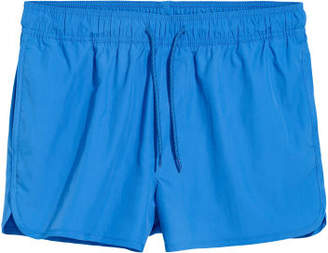 H&M Short Swim Shorts - Blue