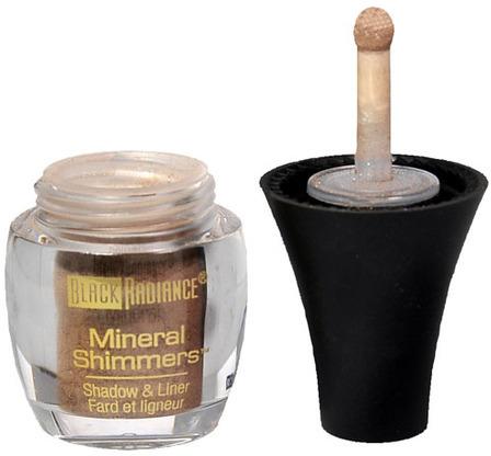 Black Radiance Mineral Shimmers Eye Shadow & Liner,Shimmering Taupe