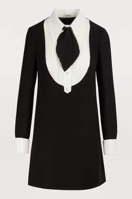 20c9ea76afe Miu Miu Silk Dresses - ShopStyle