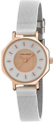 Laura Ashley Women's Octagon Two Tone Watch