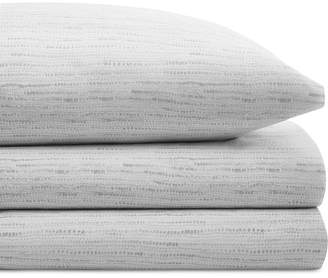 BCBGeneration Closeout! Cotton Percale 200 Thread Count Notch Stripe Pair of King Pillowcases Bedding