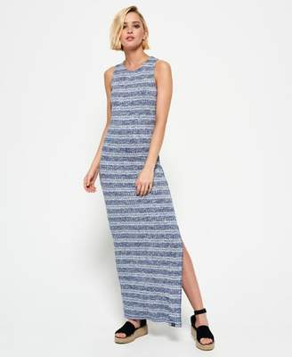 Superdry Essential Stripe Maxi Dress