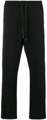 Moschino logo print track pants