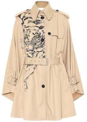Valentino Tiger Re-Edition cotton-blend coat