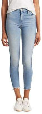 Mother Cropped Skinny Jeans