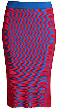 Opening Ceremony Women's Squiggle Knit Skirt