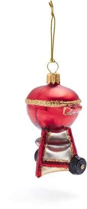 Sur La Table Charcoal Grill Glass Ornament