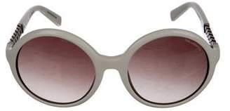 Karl Lagerfeld Tinted Circular Sunglasses