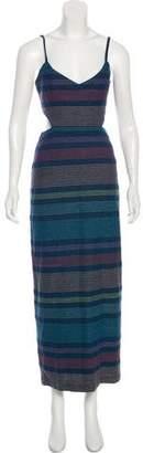 Mara Hoffman Striped Maxi Dress w/ Tags