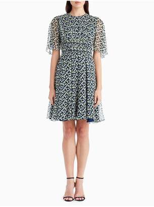 Jason Wu Chiffon Print Day Dress