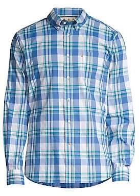 Barbour Men's Country Plaid Button-Down Shirt